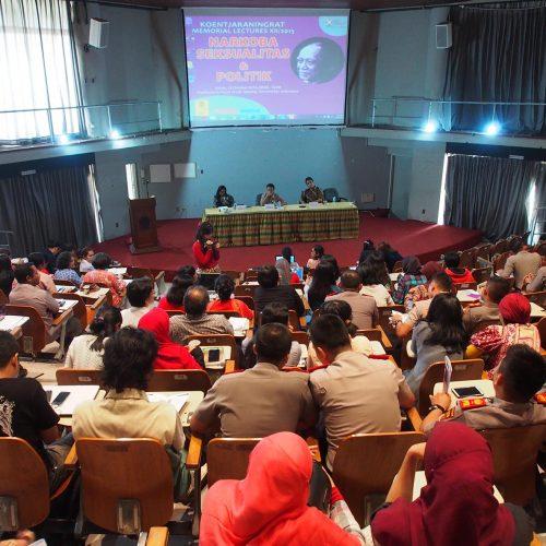 MAKALAH & RUMUSAN Koentjaraningrat Memorial Lectures XII/2015: NARKOBA, SEKSUALITAS & POLITIK