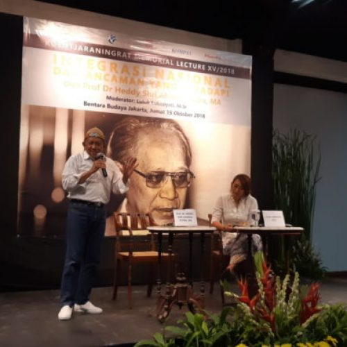 Kuliah Publik Antropologi – Integrasi Nasional dan Ancaman yang Dihadapi
