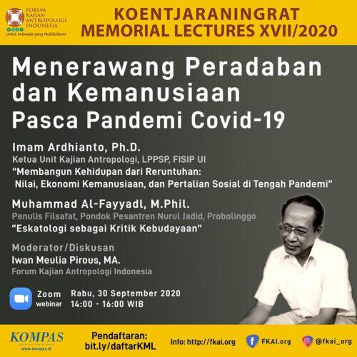 Pendaftaran Koentjaraningrat Memorial Lectures XVII/2020
